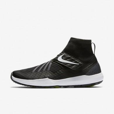 Nike zapatillas para hombre flylon train dynamic negro/gris oscuro/voltio/blanco