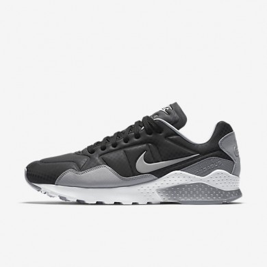 Nike zapatillas para hombre air zoom pegasus 92 premium negro/gris lobo/reflejo plata/plata metalizado
