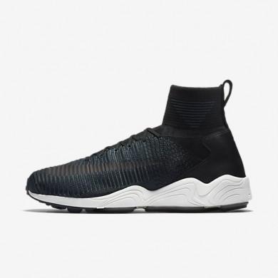 Nike zapatillas para hombre zoom mercurial flyknit negro/hasta/alga/negro