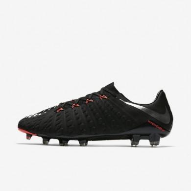 Nike zapatillas para hombre hypervenom phantom 3 fg negro/negro/antracita/plata metalizado