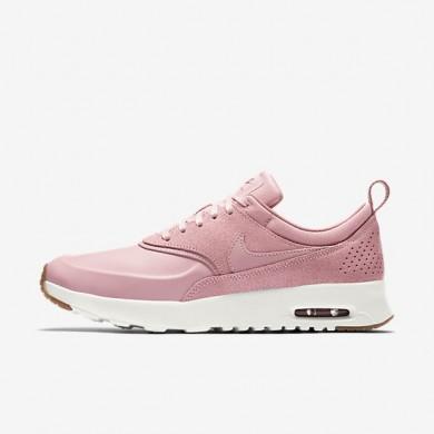Nike zapatillas para mujer air max thea premium rosa vidrio/vela/rojo nebulosa/rosa vidrio