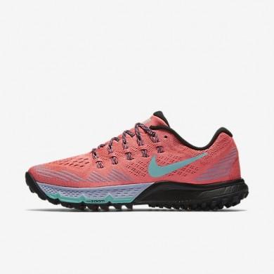 Nike zapatillas para mujer air zoom terra kiger 3 lava resplandor/orquídea/negro/hiperturquesa