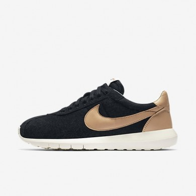 Nike zapatillas para hombre roshe ld-1000 negro/vela/naranja seguridad/tostado vachetta