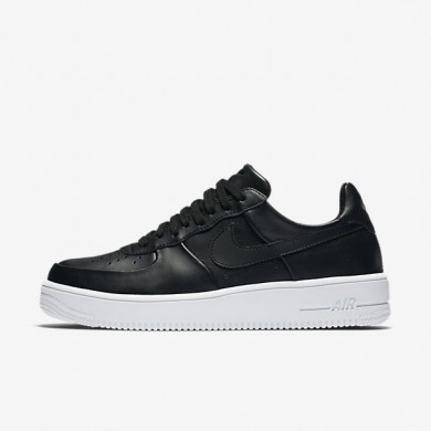 Nike zapatillas para hombre air force 1 ultraforce leather negro/blanco/negro