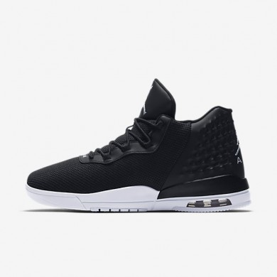 Nike zapatillas para hombre jordan academy negro/blanco/plata metalizado