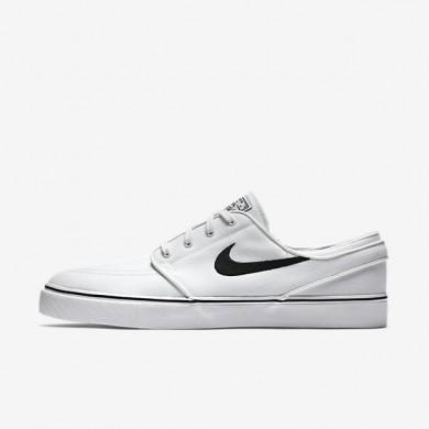 Nike zapatillas para hombre sb zoom stefan janoski canvas blanco cumbre/negro