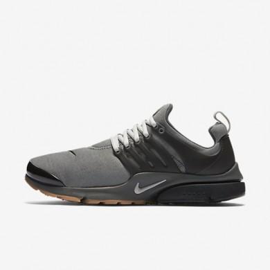 Nike zapatillas para hombre air presto premium gris rugoso/gris básico oscuro/negro/granito