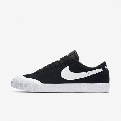 Nike zapatillas para hombre sb blazer low xt negro/marrón claro goma/blanco/blanco
