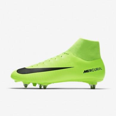 Nike zapatillas para hombre mercurial victory vi dynamic fit sg verde eléctrico/lima flash/blanco/negro