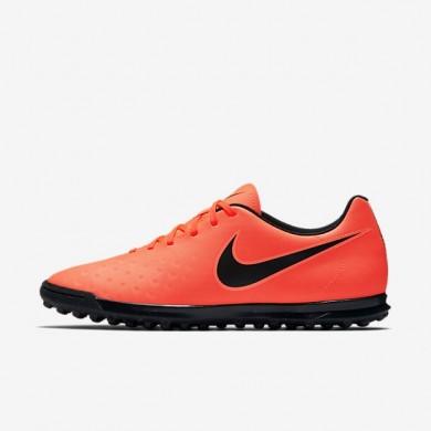 Nike zapatillas para hombre magista ola ii tf carmesí total/mango brillante/negro