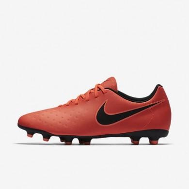 Nike zapatillas para hombre magista ola ii fg carmesí total/mango brillante/negro
