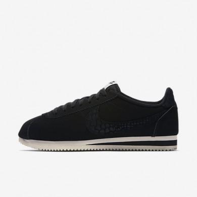 Nike zapatillas para hombre classic cortez leather se negro/vela/negro