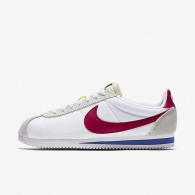 Nike zapatillas unisex classic cortez nylon premium qs blanco/royal universitario/rojo universitario/rojo universitario