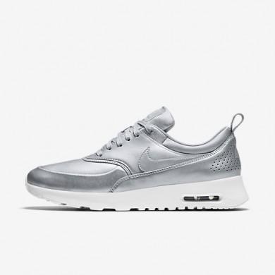 Nike zapatillas para mujer air max thea se plata metalizado/blanco cumbre/plata mate/plata metalizado