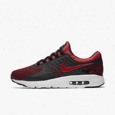 Nike zapatillas para hombre air max zero essential rojo universitario/negro/rojo team/rojo universitario