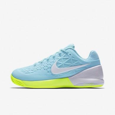 Nike zapatillas para mujer court zoom cage 2 clay azul tranquilo/voltio/blanco