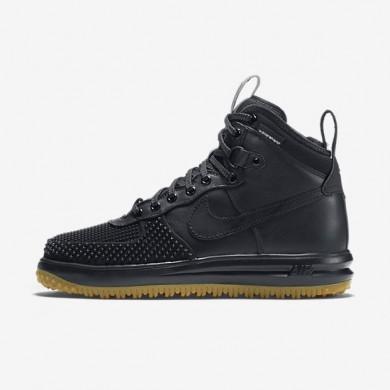 Nike zapatillas para hombre lunar force 1 duckboot negro/plata metalizado/antracita/negro