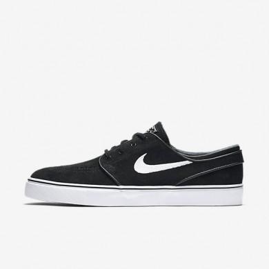 Nike zapatillas para hombre sb zoom stefan janoski og negro/marrón claro goma/blanco