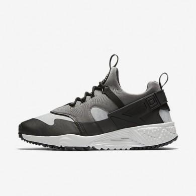 Nike zapatillas para hombre air huarache utility gris básico/gris básico medio/negro/gris ceniza claro