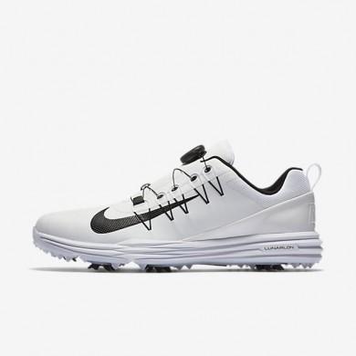 Nike zapatillas para hombre lunar command 2 boa blanco/blanco/negro