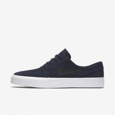 Nike zapatillas para hombre sb zoom stefan janoski premium high tape obsidiana/negro