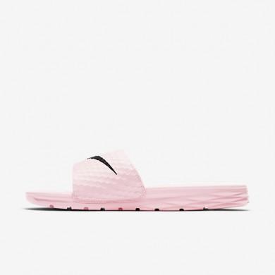 Nike zapatillas para mujer benassi solarsoft 2 rosa prisma/negro