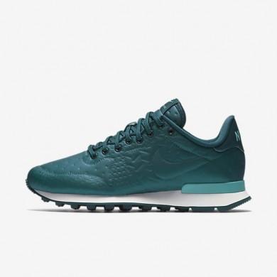 Nike zapatillas para mujer internationalist jacquard winter mar oscuro metálico/azul verdoso lavado/blanco cumbre/turquesa medianoche