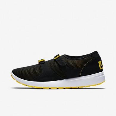 Nike zapatillas para hombre air sock racer og negro/amarillo tour/blanco/negro