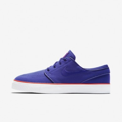 Nike zapatillas para hombre sb zoom stefan janoski canvas noche intenso/naranja máximo/noche intenso