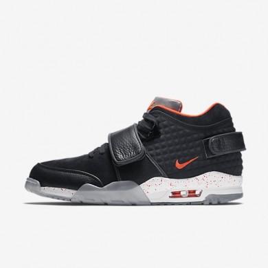 Nike zapatillas para hombre air trainer qs negro/amarillo tour/blanco/carmesí brillante
