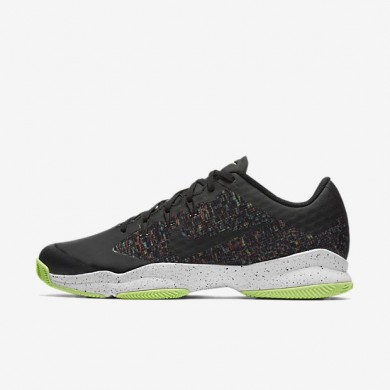 Nike zapatillas para hombre court air zoom ultra qs ldn multicolor/verde fantasma/blanco cumbre/negro