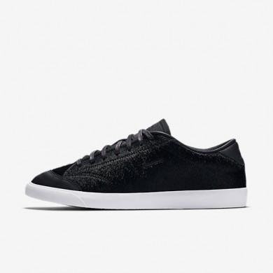 Nike zapatillas para hombre all court 2 low lx negro/blanco/negro