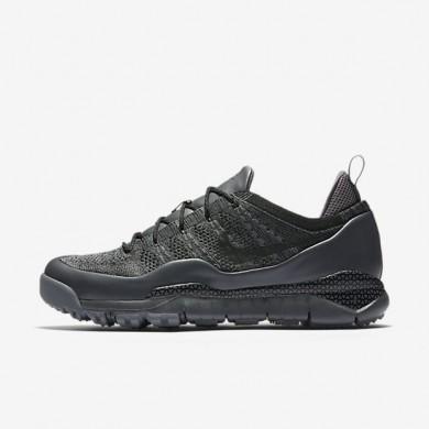 Nike zapatillas para hombre lupinek flyknit low gris oscuro/gris azulado/negro