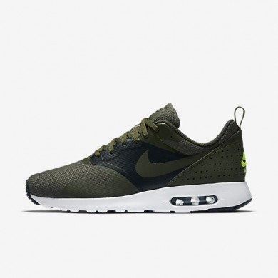 best service 77047 e636d Nike zapatillas para hombre air max tavas se caqui militar negro verde  eléctrico