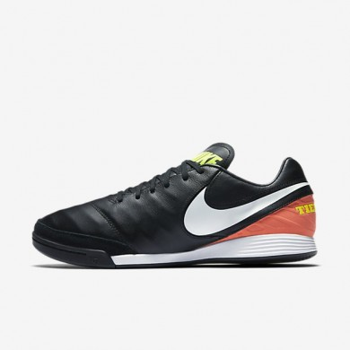 Nike zapatillas para hombre tiempo mystic v ic negro/hipernaranja/voltio/blanco