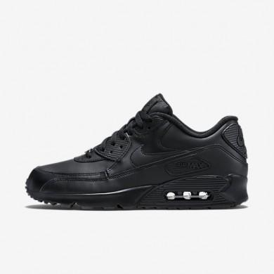 Nike zapatillas para hombre air max 90 leather negro/negro