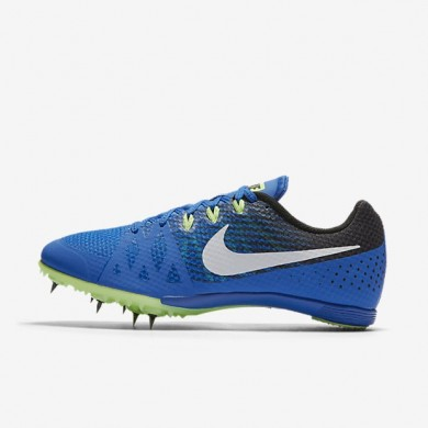 Nike zapatillas unisex zoom rival m 8 hipercobalto/negro/verde fantasma/blanco