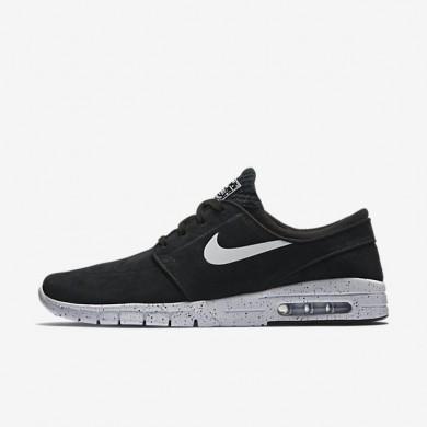 Nike zapatillas para hombre sb stefan janoski max l negro/blanco
