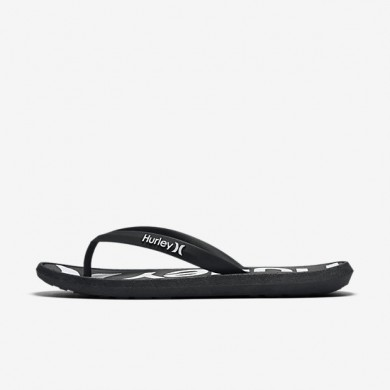 Nike zapatillas para hombre hurley one and only printed negro