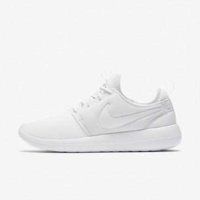 Nike zapatillas para mujer roshe two blanco/platino puro/blanco