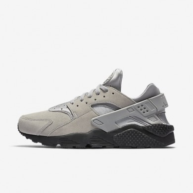 Nike zapatillas para hombre air huarache se plata mate/negro/hipernaranja/plata mate