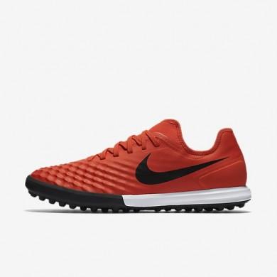 Nike zapatillas para hombre magistax finale ii tf naranja máximo/carmesí total/negro