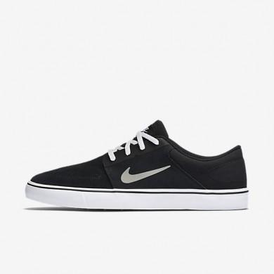 Nike zapatillas unisex sb portmore negro/blanco/marrón claro goma/gris medio