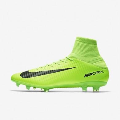 Nike zapatillas para hombre mercurial veloce iii fg verde eléctrico/lima flash/blanco/negro