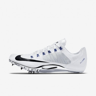 Nike zapatillas unisex zoom superfly r4 blanco/azul carrera/negro