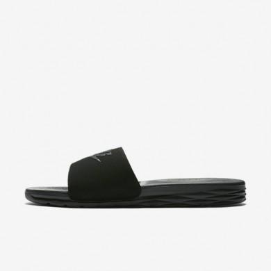 Nike zapatillas para hombre benassi solarsoft 2 negro/antracita