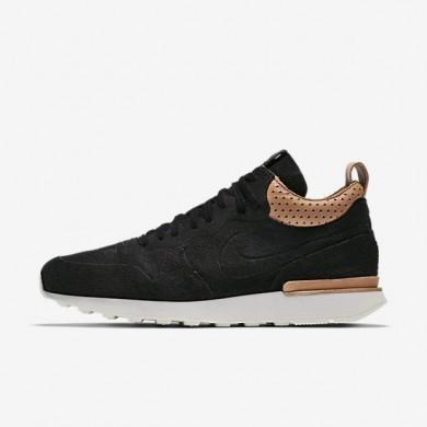 Nike zapatillas para hombre lab internationalist mid royal negro/blanco cumbre/tostado vachetta/negro