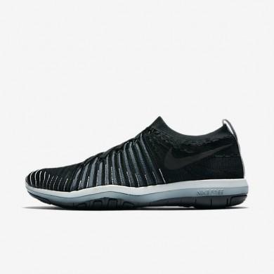 Nike zapatillas para mujer lab free transform flyknit negro/zorro azul/platino puro/negro