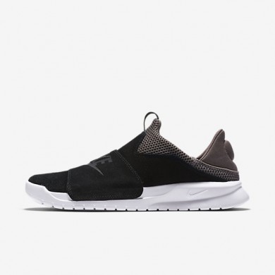 Nike zapatillas para hombre benassi slip negro/seta oscuro/blanco/negro