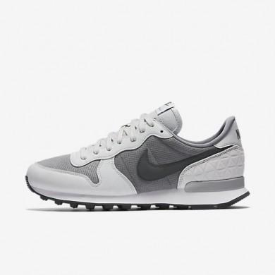 Nike zapatillas para mujer internationalist premium gris azulado/platino puro/blanco/antracita